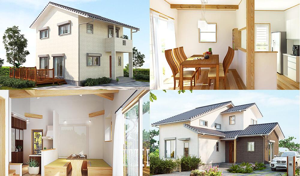 自然素材の家づくり研究会なら水戸市のNS建築デザイントップ画像
